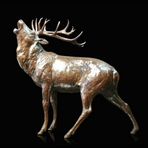Bronze Stags by Sculptor Michael Simpson